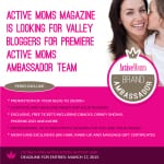 ISO: Active Moms Magazine Bloggers
